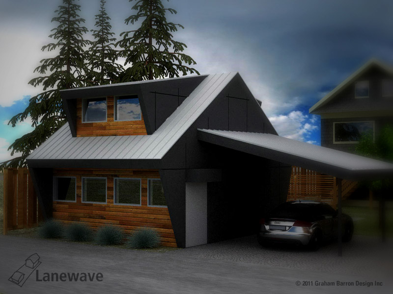 Graham barron design inc laneway house vancouver for Home designs vancouver