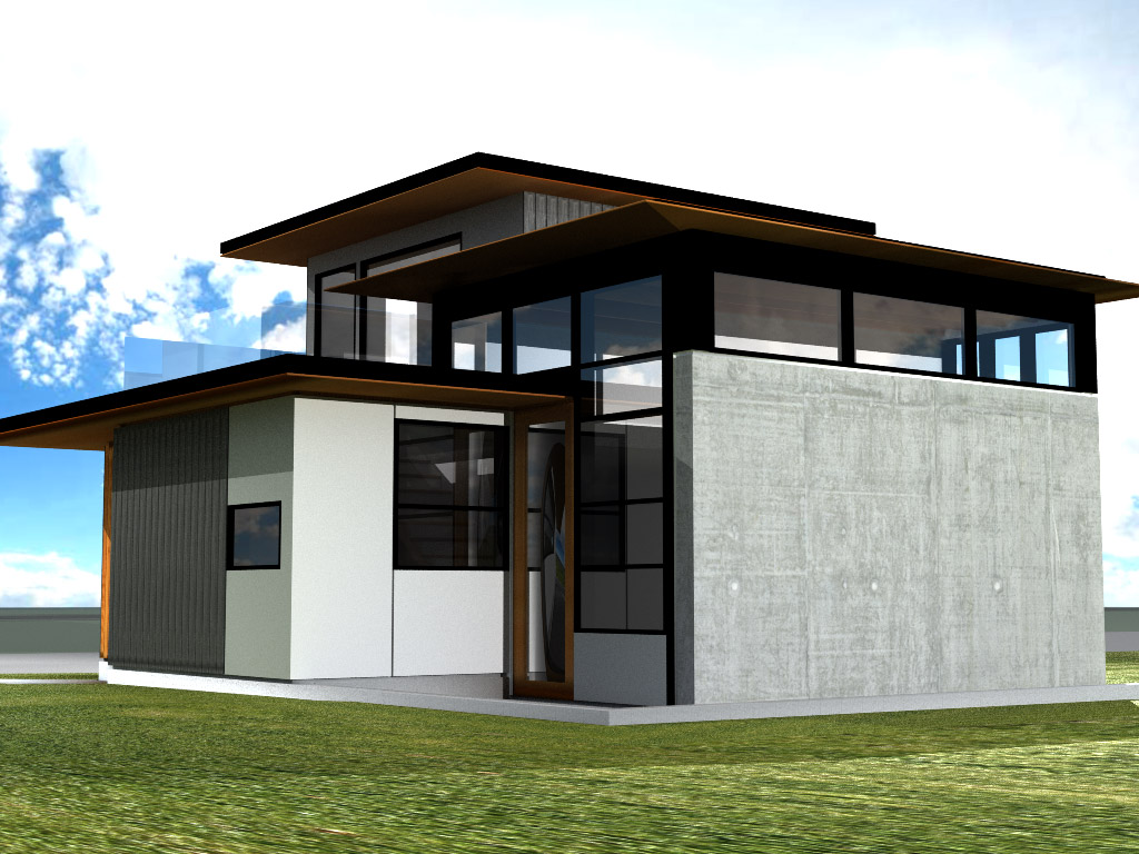 Graham barron design inc pender laneway house vancouver for House designs vancouver